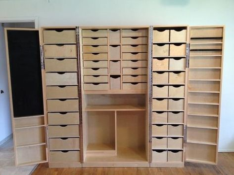 So need couple of these to store all my craft stash. And the cool thing is it folds in to look like ordinary cupboard so no one susses just how much stuff you have accumulated,lol!