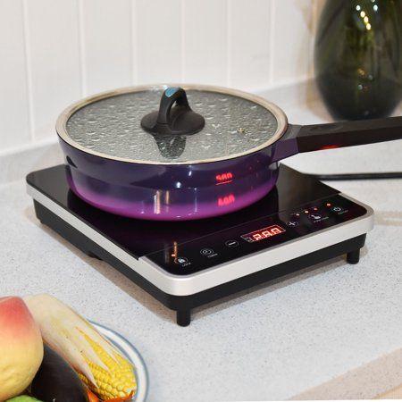 Costway Electric Induction Cooker Single Burner Digital Hot Plate Cooktop Countertop New Walmart Com Single Burner Hot Plate Gas Cooker