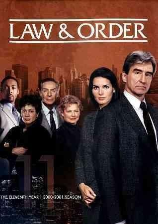 Law Order 11th Year Dvd 5discs Trivoshop In 2021 Law And Order Dianne Wiest Jill Hennessy