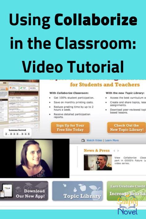 Technology: collaborize classroom.