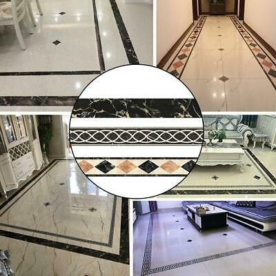 Floor Tiles Decor Stickers Self Adhesive Decor Ceramic Waterproof Tile Stickers Fashion Home Garden In 2020 Decorative Tile Wall Decor Stickers Wall Stickers Tiles