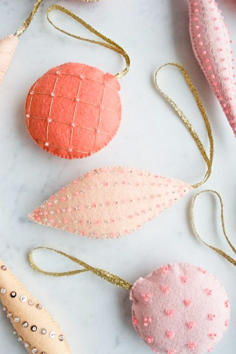 If I Had More Hours: 9 Handmade Ornaments