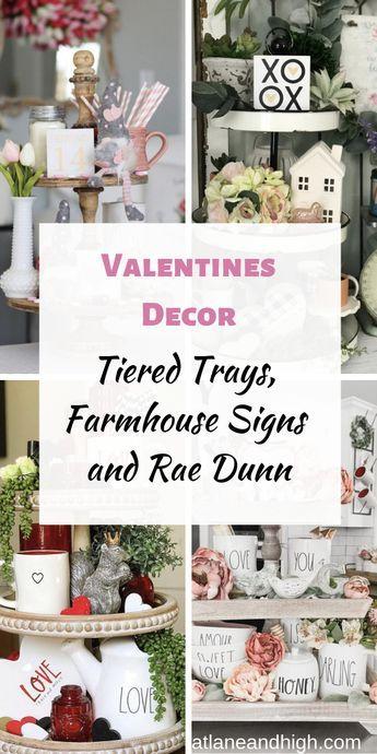 Modern Farmhouse Valentine S Day Decor Ideas Valentine Decorations Farmhouse Decor Trends Trending Decor