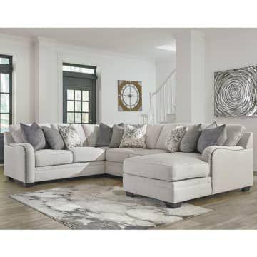 Ashley Dellara Sofa Sectional Kanan Terbaik Informa Furniture Transitional Furniture Sectional Sofa