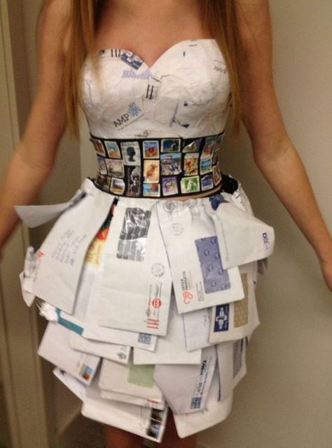 30+ Paper Dress Fashion You've Never Seen Before - Feminine Buzz