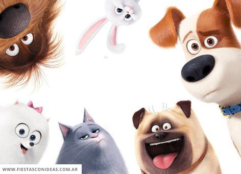 Tarjeta De Cumpleaños De La Vida Secreta De Tus Mascotas 2 La Vida Secreta De Tus Mascotas Mascotas Perros En Caricatura