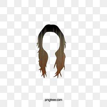 Western Style Yellow Hair Wig Free To Pull The Material Picture Png And Vector Hair Png Long Hair Styles Wigs