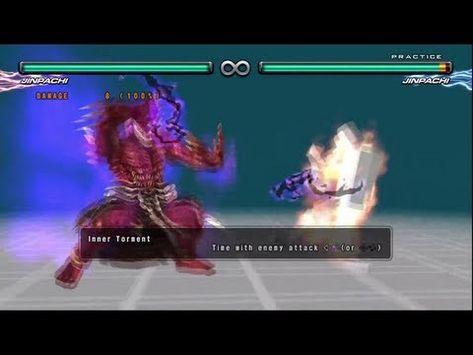 Tekken 5 Dr Jinpachi Mishima Command List Hd 1080p Youtube