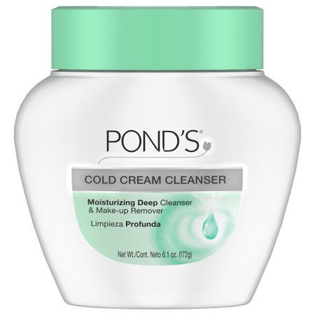 Pond S Cold Cream Cleanser 6 1 Oz Walmart Com Cream Cleanser Cold Cream Ponds Cold Cream