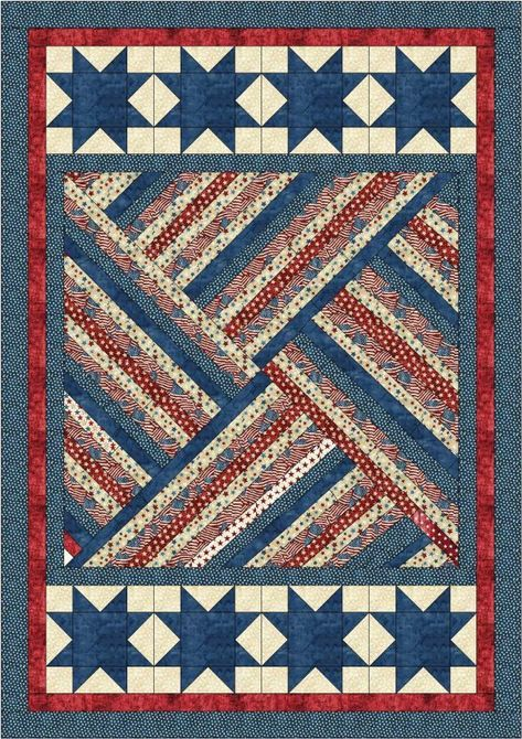 """New Triangle Tango Quilt Pattern for 10/"""" Squares New by Missouri Star Quilt Co"""
