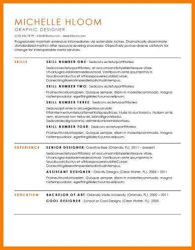 Best Resume Format Template Best Resume Format Template Best Resume Format Templates For Experienced Best Resume Format Template 2018