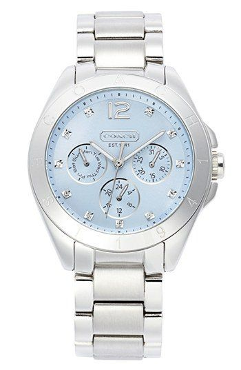 COACH 'Tristen' Multi Eye Dial Bracelet Watch, from Nordstrom. Shop more products from Nordstrom on Wanelo.