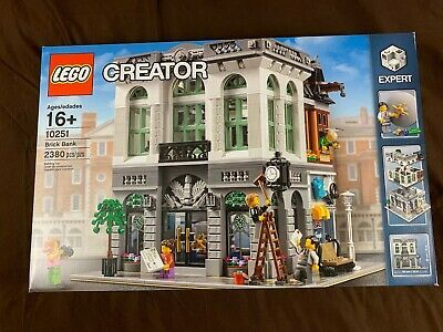 Lego 10251 Brick Bank Expert Creator Set New /& Sealed