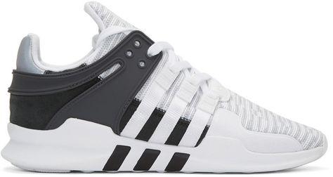 newest 12925 c6042 adidas Originals White EQT Support ADV Sneakers