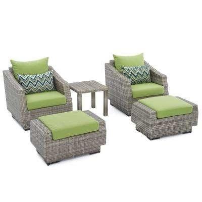 Green Patio Furniture Cushions