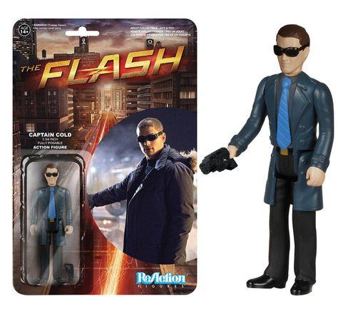 Funko ReAction: The Flash - Captain Cold Action Figure