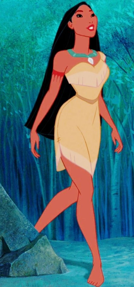 What is your favorite thing about Pocahontas' appearance? Poll Results - Disney Princess