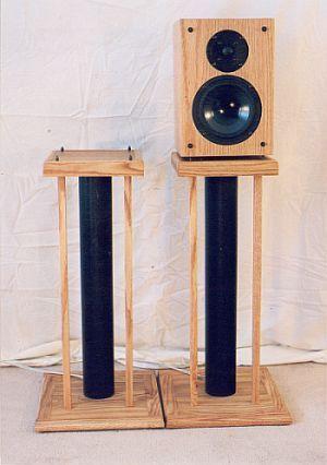 Speaker Stands | audio | Speaker stands, Diy speakers