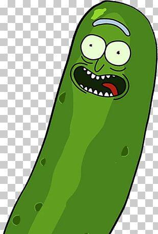 Ilustracion De Dibujos Animados De Pepino Verde Pickle Rick Rick Sanchez Morty Smith Png Clipart Rick And Morty Clip Art Stickers
