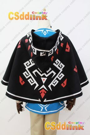 The Legend of Zelda Breath of the Wild Link Cosplay Costume only cape