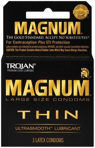 Magnum Thin Condoms Condoms Extra Large Condoms Magnum Bareskin