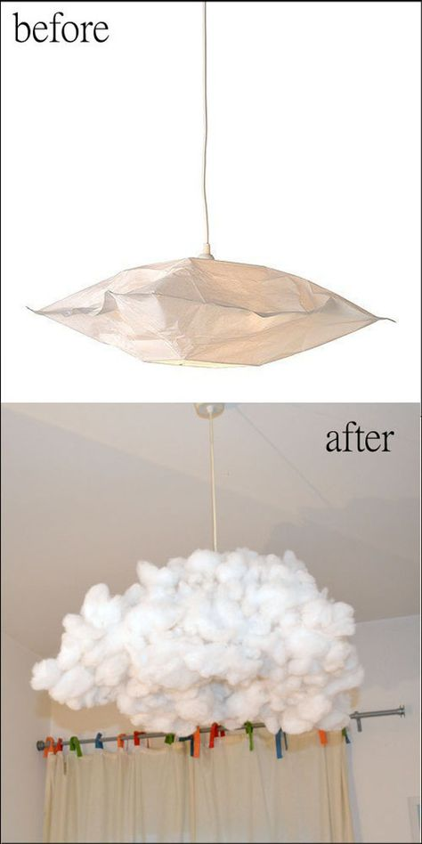 mommo design: IKEA HACKS FOR KIDS --- this is bonkers - but also, very cool (use a non-incandescent bulb, obviously)