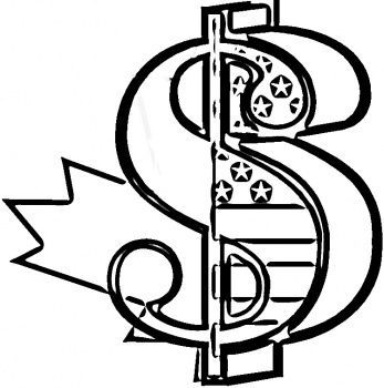 Coloring Money Pages Sign 2020 Coloring Pages Dollar Sign