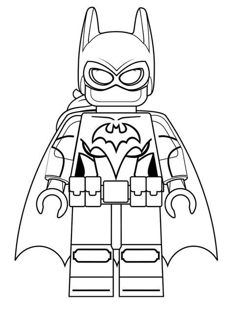 Lego Batman Coloring Pages Batman Para Colorear Batman Dibujo