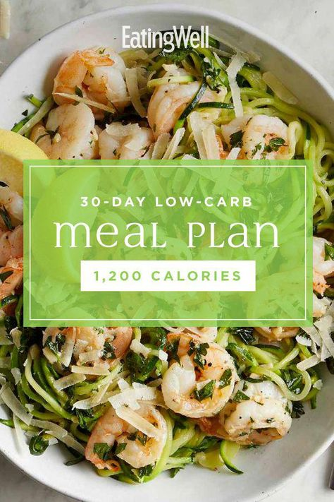 In this 30-day low-carb diet plan, we show you what a healthy low-carb diet for weight loss looks like, with a full month of delicious low-carb breakfast, lunch, dinner and snack ideas. Couple this healthy meal plan with regular exercise and you're on track to lose a healthy 1 to 2 pounds per week. #mealplan #mealprep #healthymealplans #mealplanning #howtomealplan #mealplanningguide #mealplanideas #recipe #eatingwell #healthy #KetogenicDietBodybuilding
