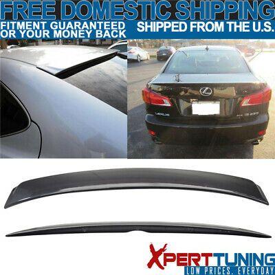 Sponsored Ebay Fit 06 13 Lexus Is250 350 Oe Trunk Roof Spoiler Painted 1g0 Smoky Granite Abs Lexus Is250 Lexus Abs