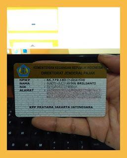 Cara Daftar Npwp Online Tanda Jenis Kartu