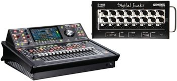 Presonus Studiolive 32s 32 Channel Digital Mixer Microphone Preamps Digital Audio Sound