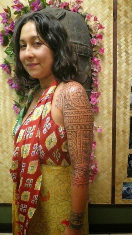 Tropical Dreams: Smiling Filipino Tattoo...  #tattoo