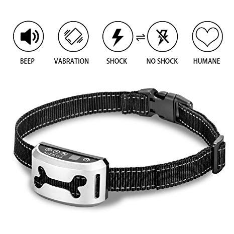 Bark Collar For Small Large Medium Dog Cosezin Humane No Bark Dog