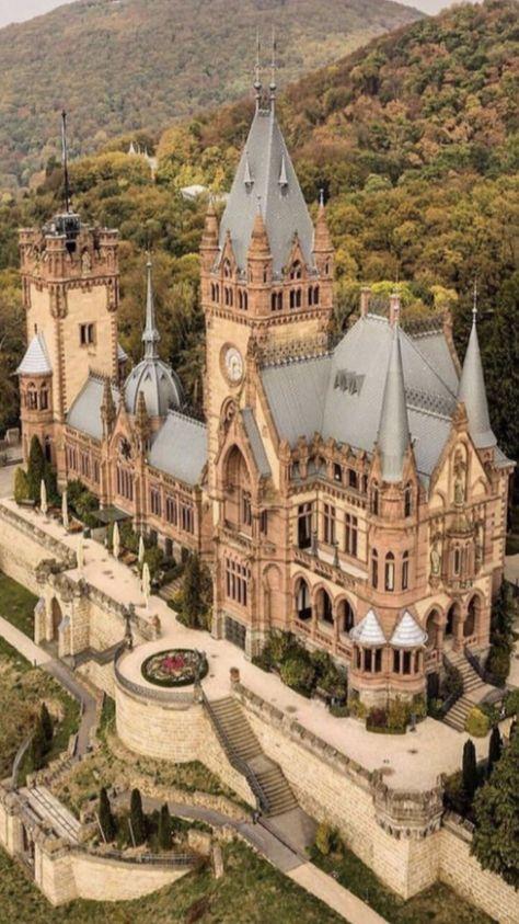 "🏛Architectolder on Twitter: ""Drachenburg Castle.… """