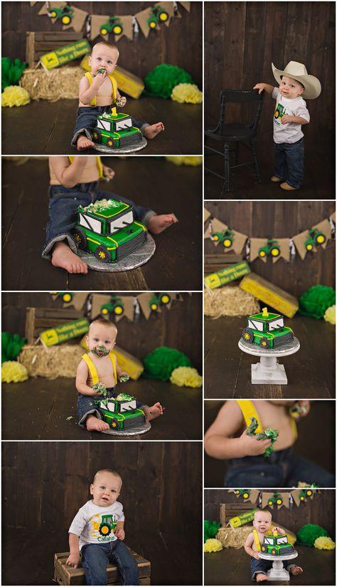 Birthday Cake Ideas For Boys Toddlers John Deere 45 Trendy Ideas Boys First Birthday Party Ideas, First Birthday Pictures, Baby Boy 1st Birthday, 1st Boy Birthday, Boy Birthday Parties, Tractor Birthday Cakes, John Deere Party, 1st Birthdays, Bryan College