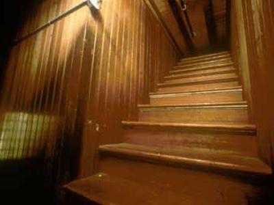 Výsledek obrázku pro winchester house stairs pinterest