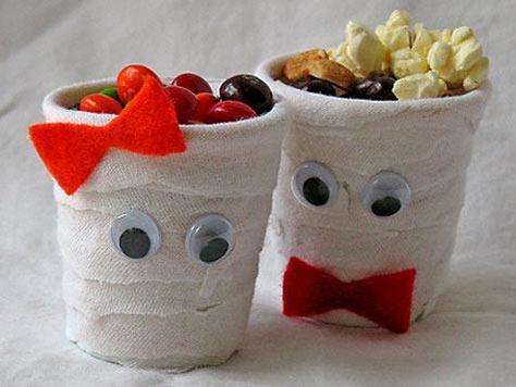 halloween crafts mummy kids