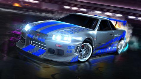 Rocket League® – Fast & Furious™ '99 Nissan Skyline GT-R R34