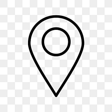Location Vector Icon White Transparent Background Location Clipart Location Icons Transparent Icons Png And Vector With Transparent Background For Free Downl Location Icon Map Icons Map Logo