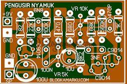 Cara Membuat Rangkaian Pengusir Nyamuk Sederhana Dengan Transistor Nyamuk Rangkaian Elektronik Elektronik