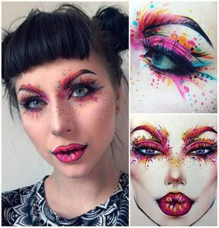 Makeup Artist Fantasy Face Art 45 Ideas Makeup With Images