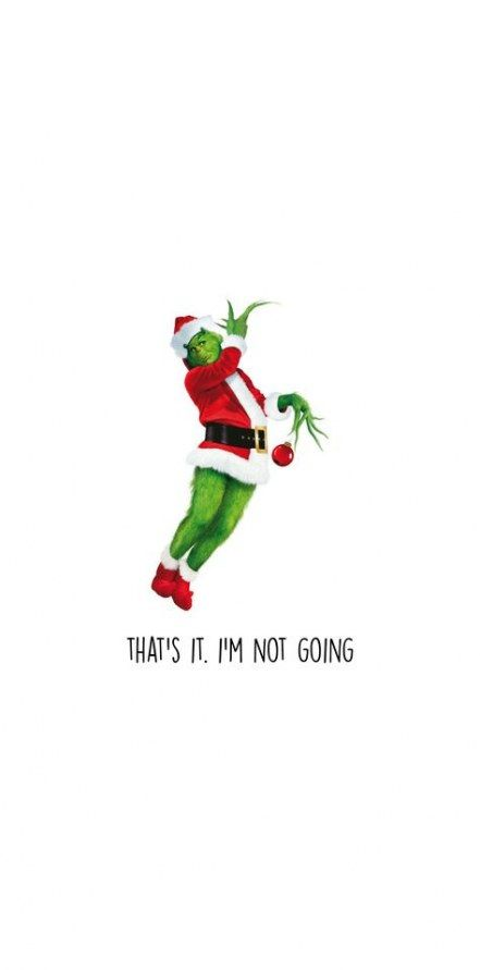 Holiday Wallpaper Grinch 41 Ideas Funny Christmas Wallpaper Wallpaper Iphone Christmas Funny Quotes Wallpaper
