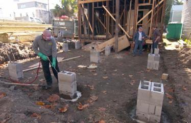 How To Make A Concrete Planter Attic Renovation Attic Remodel Attic Rooms
