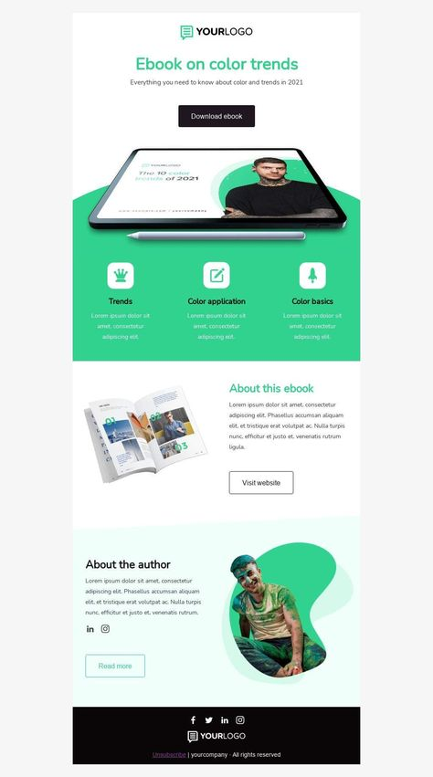 eBook trends - Email Template