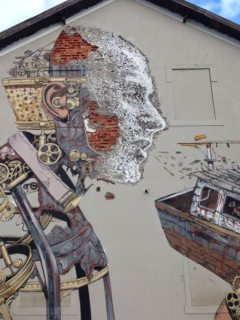 "Artist : Pixel Poncho  Vils   ""Lisbon"""