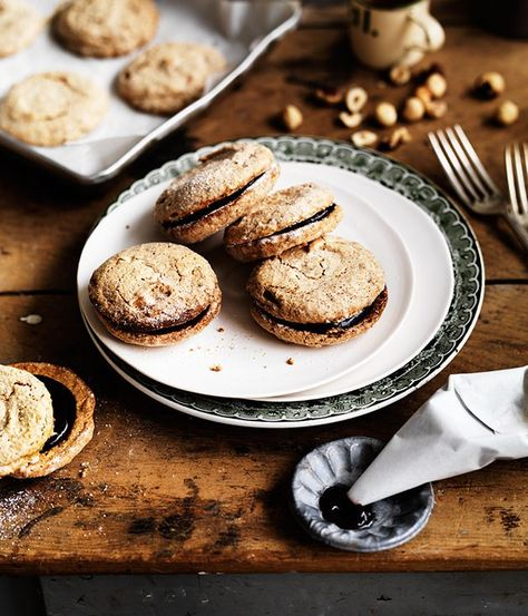 Crisp hazelnut meringues recipe | Alice Waters recipe - Gourmet Traveller