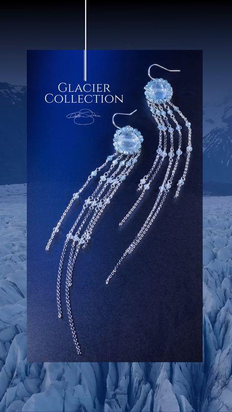 Unique Aquamarine and Silver Jewelry - Glacier Collection