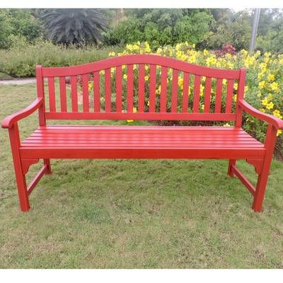 Rothstein Acacia Wood Garden Bench With Images Metal Garden Benches Wooden Garden Benches Garden Bench