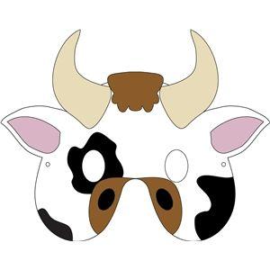 Cow Mask Template Rome Fontanacountryinn Com